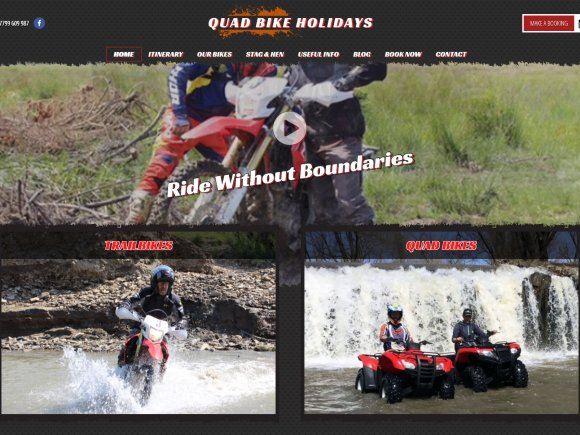 Quad Bike Holidays - Home